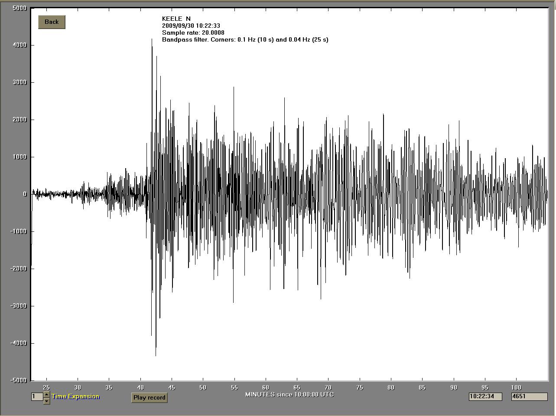 20090930 Sumatra Waveform
