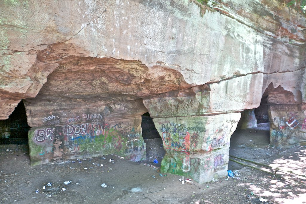 Beech Caves, Staffordshire