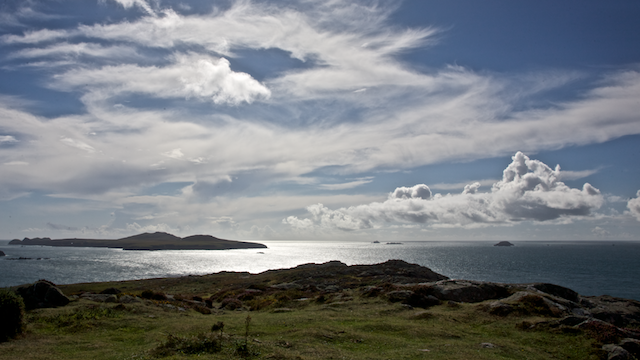 Ramsey Island from St David's Head
