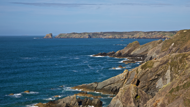 Skomer Island from Marloes
