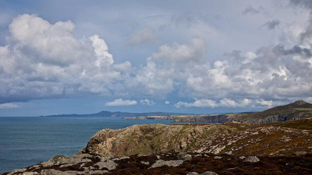 Strumble Head from St David's Head