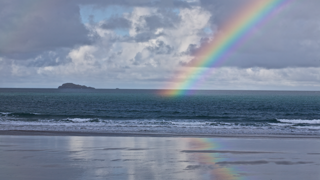 Rainbow at Whitesand Bay