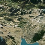 Google Earth view of my undergraduate mapping area at Lukmanierpass.