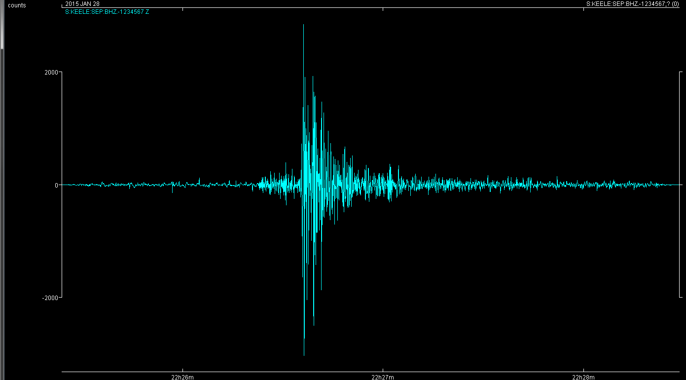 20150128 Rutland Earthquake