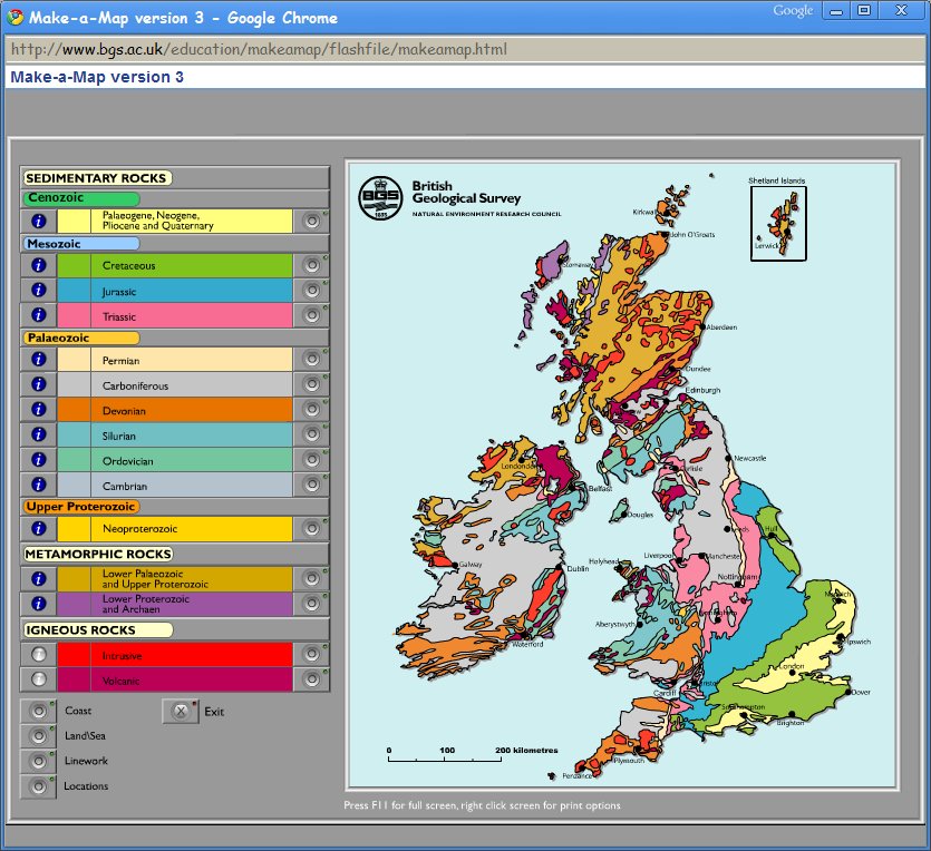 British Geological Survey Maps OpenGeoscience – Hypo theses British Geological Survey Maps
